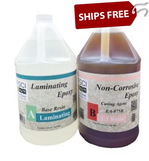 2 Part Laminating Epoxy, 2 Gallon Kit