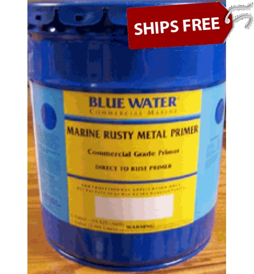 Blue Water Commerical Rusty Metal Primer