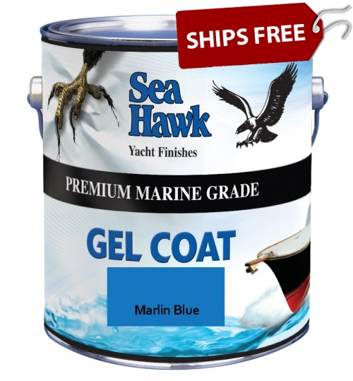 Marlin Blue Gel Coat by Sea Hawk Paints