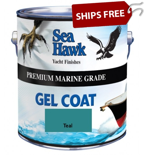 Teal Gel Coat, by Sea Hawk Paints
