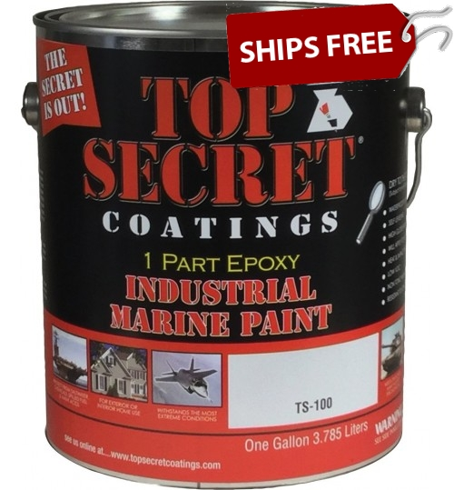 TS-100 Silicone Epoxy, Gallon by Top Secret Coatings