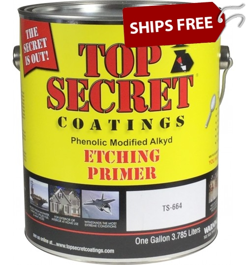 TS-664 Etching Primer by Top Secret Coatings