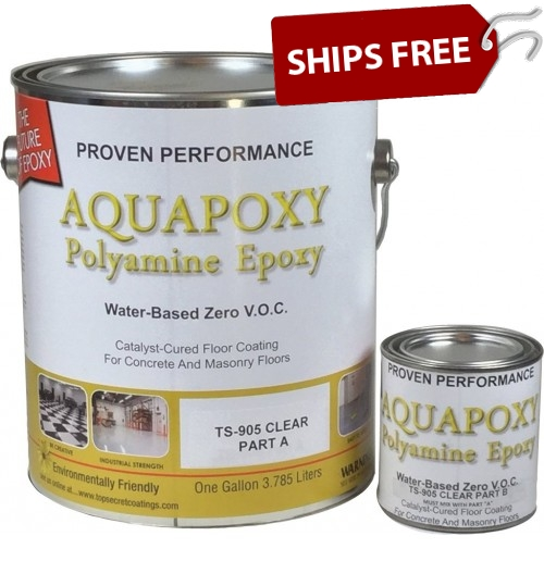 TS-905 Aquapoxy Clear, Gallon Kit