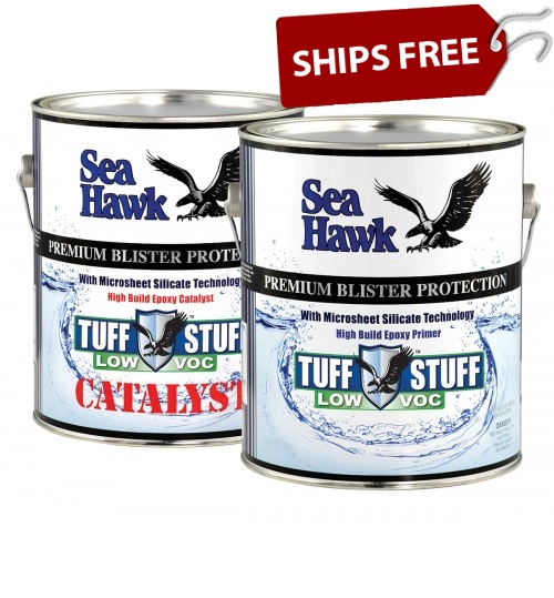 Tuff Stuff Low VOC High Build Epoxy Primer by Sea Hawk Paints