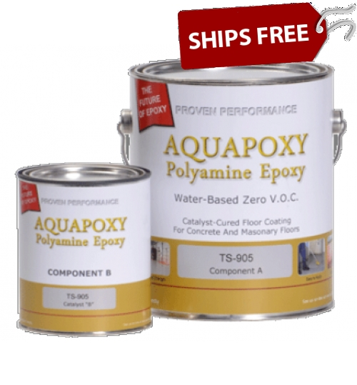 TS-905 Aquapoxy, Gallon by Top Secret Coatings