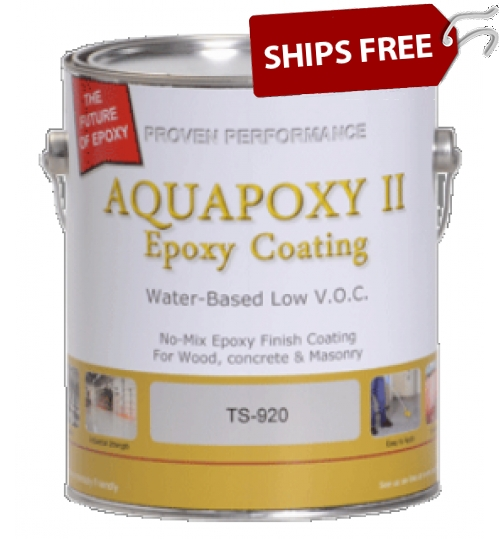 TS-920 Aquapoxy II, Gallon by Top Secret Coatings