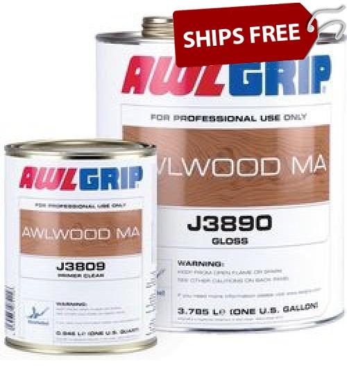 Awlwood Ma Clear Gloss Gallon