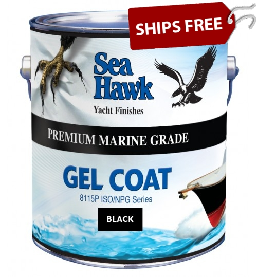 Sea Hawk Black Gelcoat