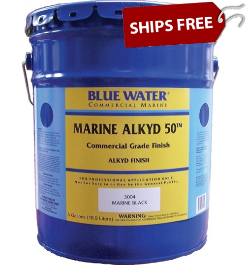Blue Water Marine Alkyd 50, 5 Gallon