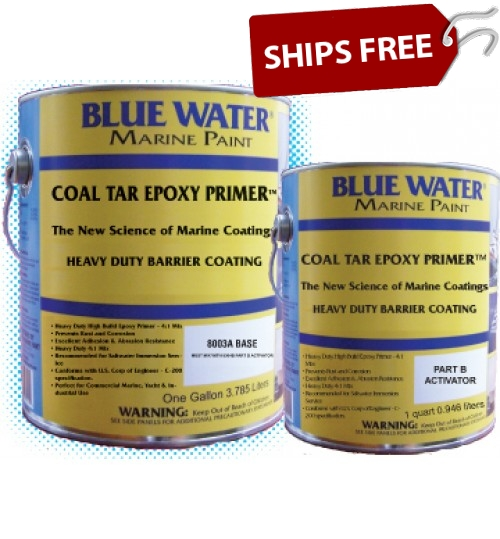 Blue Water Marine Coal Tar Epoxy Primer