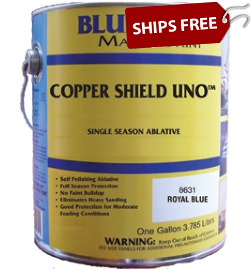 Blue Water Marine Copper Shield Uno 35 Ablative