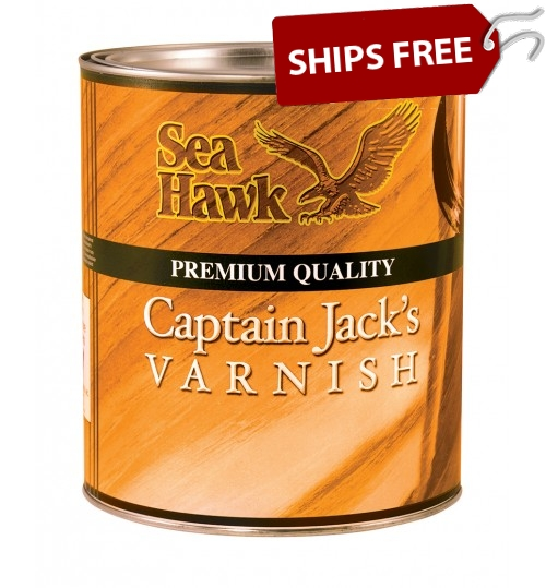 Captain Jack's Varnish, Quart