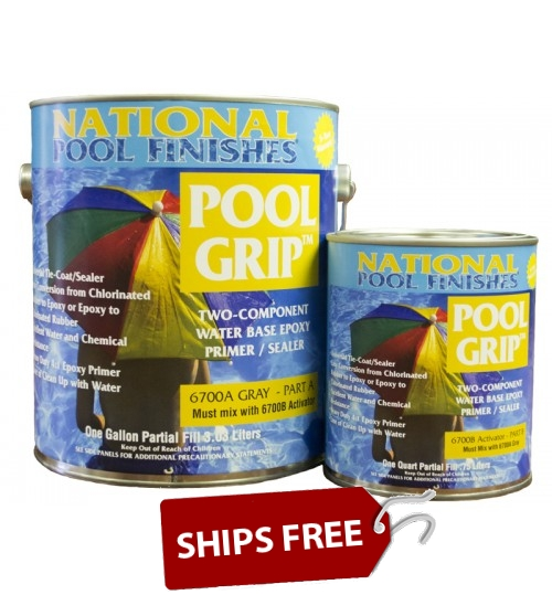 Pool Grip™ Waterbase Epoxy Primer Gallon Kit