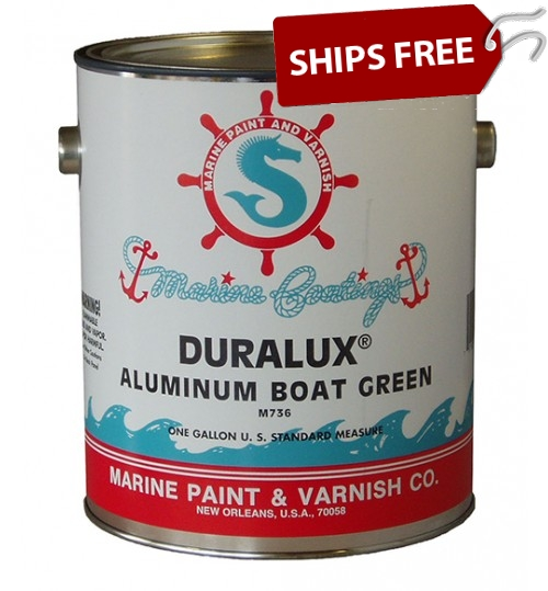 Duralux Aluminum Boat Paint Green, Gallon