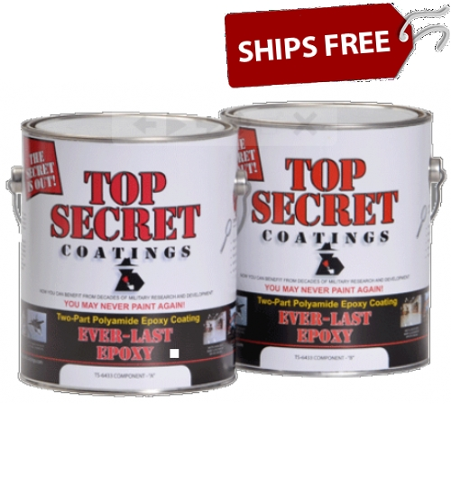 TS-6433 Ever-Last Epoxy, 2 Gallon Kit by Top Secret Coatings