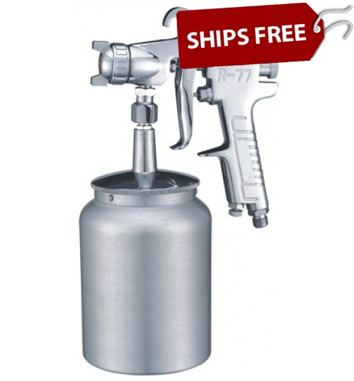 Gelcoat & Resin Spray Gun 3.0mm Nozzle w/1.0 Liter Aluminum Cup