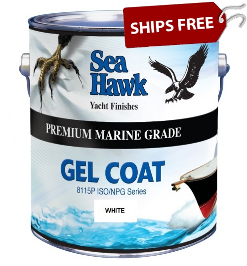 Snow White Gelcoat, by Sea Hawk Paints