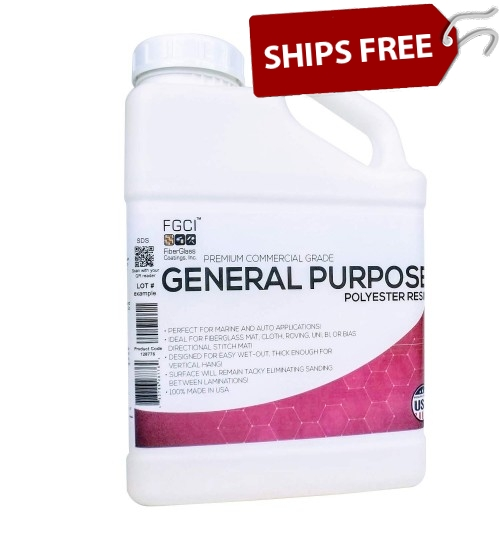 General Purpose Polyester Resin, Gallon