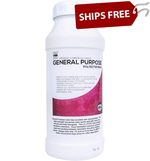 General Purpose Polyester Resin, Quart