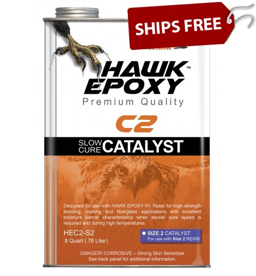 Hawk Epoxy Slow Cure Catalyst, C2-S2, .8 Quart