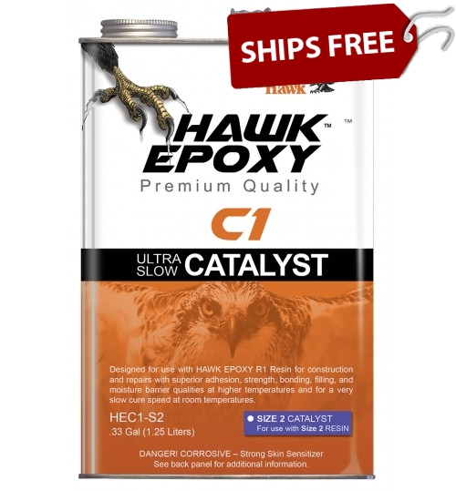 Hawk Epoxy Ultra Slow Catalyst, C1-S2, .33 Gal
