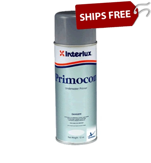 Interlux Primocon, 16 oz Aerosol, Gray