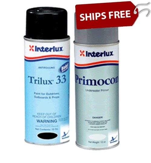 Interlux Trilux 33 Aerosol and Primer Kit