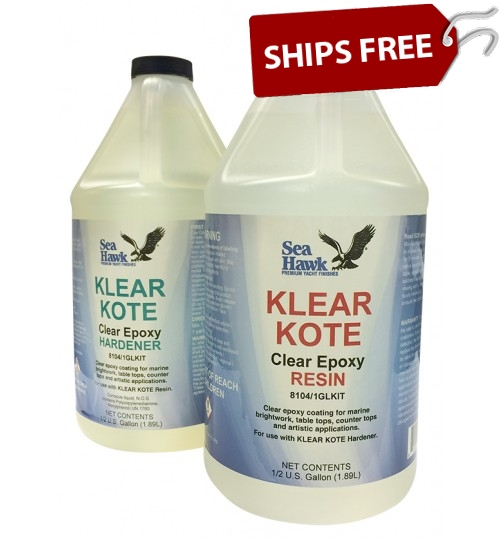Klear Kote Epoxy Resin, 1 Gallon Kit