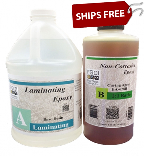 Laminating Epoxy Resin 2:1 Kit