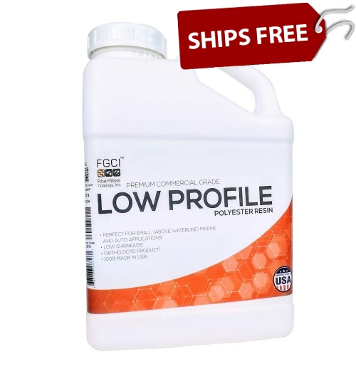 Low Profile Resin, 1 Gallon Kit