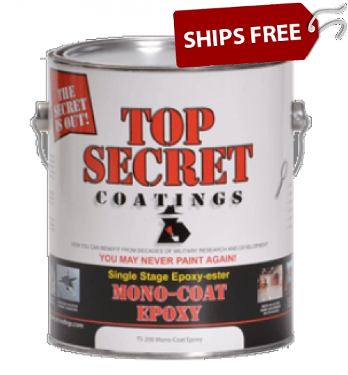TS-200 Mono Epoxy, Gallon by Top Secret Coatings