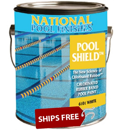 Pool Shield™ Chlorinated Rubber Pool Paint- Standard Colors