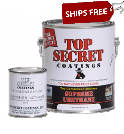 TS-66 Supreme Urethane, Half Gallon Kit by Top Secret Coatings