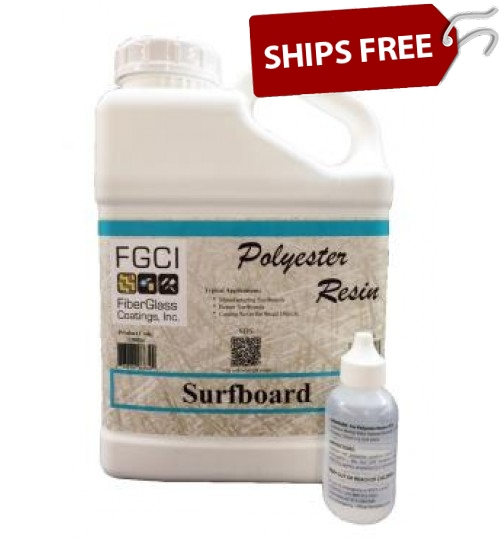 Surfboard Polyester Resin, Gallon