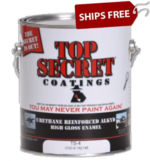 TS-4 Urethane Reinforced Alkyd, Gallon by Top Secret Coatings